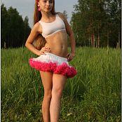 TeenModelingTV Alice Pink White Tutu 1505