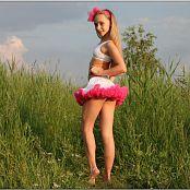 TeenModelingTV Alice Pink White Tutu 1582