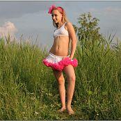 TeenModelingTV Alice Pink White Tutu 1586