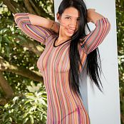 Yeraldin Gonzales Striped Mini TM4B Picture Set 003