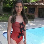 Angie Narango Red One Piece TM4B HD Video 004