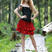 Silver Jewels Alice Red Skirt Set 5 0250