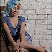 TeenModelingTV Madison Denim Skirt 0970