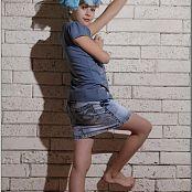 TeenModelingTV Madison Denim Skirt 1053