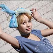 TeenModelingTV Madison Denim Skirt 1056