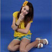 TeenModelingTV Madison Hawaiian Shorts 1260