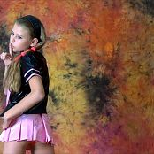 Fashion Land Angelica Shiny Pink Vinyl Skirt HD Video