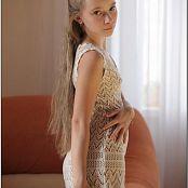 TeenModelingTV Alice White Knit Dress 1474