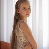 TeenModelingTV Alice white Knit Dress Picture Set