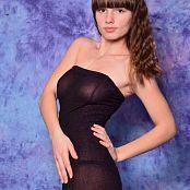 Silver Starlets Nakita Black Dress Picture Set 1