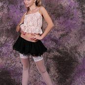 Silver Jewels Alice Black Skirt Set 4 104