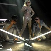 Britney Spears 3 Sexy Glittering Catsuit Video