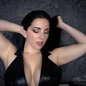 Goddess Alexandra Snow Black Leather JOI HD Video 270118 mp4