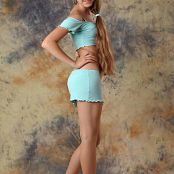 Silver Starlets Yulia Blue Skirt Set 1 028