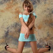 Silver Starlets Yulia Blue Skirt Set 1 031