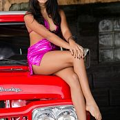 Karina Gomez Sweet Shiny Purple Lingerie TCG Set 001 049