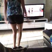 Kalee Carroll OnlyFans Kitty Ruins Workout Video 310118 mp4