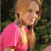 TeenModelingTV Ella Pink Fashion Picture Set