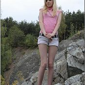 TeenModelingTV Ella Pink Sleeveless 703