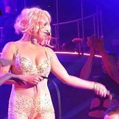 Britney Spears Pink Hair & Golden Outfit Whipping Boy HD Video