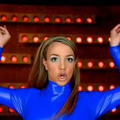Britney Spears blue Latex 1 270118 mp4