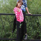 TeenModelingTV Ella White Polkadots Pics 775