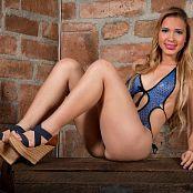 Luisa Henano Blue T Back TM4B Set 003 010