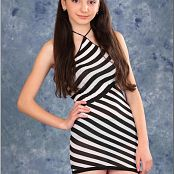 TeenModelingTV Tammy Striped Mini 1744