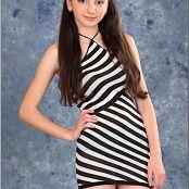 TeenModelingTV Tammy Striped Mini 1744