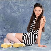 TeenModelingTV Tammy Striped Mini Picture Set