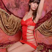 Silver Starlets Nakita Red Dress Set 1 2933