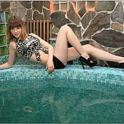 TeenModelingTV Amber Black White 623