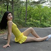 Silver Moon Teia Yellow Dress Set 1 365