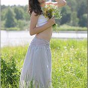 TeenModelingTV Sage Grey Skirt 5683