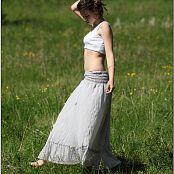 TeenModelingTV Sage Grey Skirt 5745