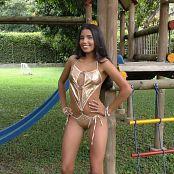 Wendy Mazo Shiny Gold T Back TBS 4K UHD Video 001 130218 mp4