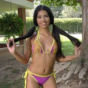 Wendy Mazo Colorful Bikini TBS 4K UHD & HD Video 002