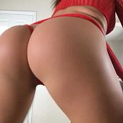 Kalee Carroll OnlyFans Red Fishnet and String HD Video 090218 mp4