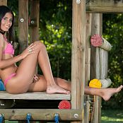 Wendy Mazo Pink Bikini TBS Set 003 820