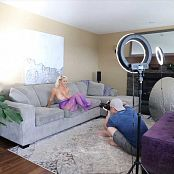 Jana Fox Purple Mesh BTS HD Video 190218 mp4