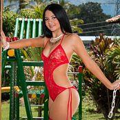 Clarina Ospina Red Stockings TM4B Set 003 292