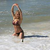 Madden Bikini Beach Picture Set