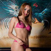 Mellany Mazo Pink Bikini TBS Set 004 062