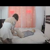 Abbey Mars and Cherry Mars aka LatexBarbie Mummifies Cherry HD Video 010318 mp4