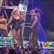 Britney Spears Medley Live Good Morning America Sexy Black Latex Corset 250218 vob