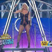 Britney Spears Medley Live Good Morning America Sexy Black Latex Corset 250218 vob