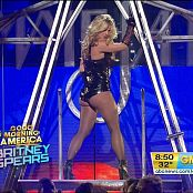 Britney Spears Medley Live GMA Sexy Black Latex Corset Video