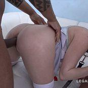 SZ799 Lola Taylor 4on1 mini gangbang slut fucked by 4 black cocks DPed 250218 mp4