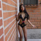 Wendy Mazo Shiny Black T Back Outfit TBS 4K UHD Video 005 050318 mp4