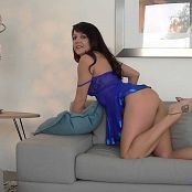 Andi Land Blue Nightie HD Video 120318 mp4